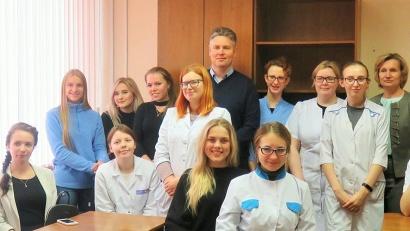 Встреча студентов с главным врачом Устьянской ЦРБ