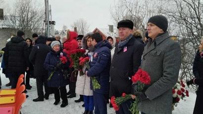 Кульминацией памятных мероприятий, которые проходят в Норвегии в эти дни, стала церемония на центральной площади Киркенеса