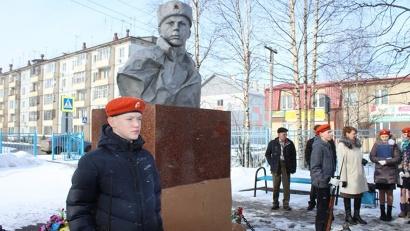 Памятник Герою Советского Союза Прокопию Галушину – один из 43 военных обелисков Холмогорского района