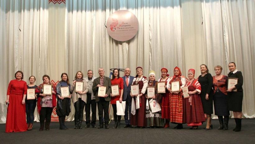 Дипломы лауреатов торжественно вручили Шалакушскому и Лешуконскому народным хоровым коллективам