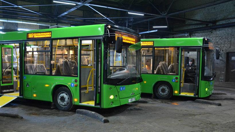 Новые автобусы МАЗ максимально комфортны и безопасны