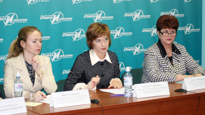 Ирина Романова, Татьяна Суровцева и Ольга Пивоварова рассказали журналистам, что такое финансовая грамотность