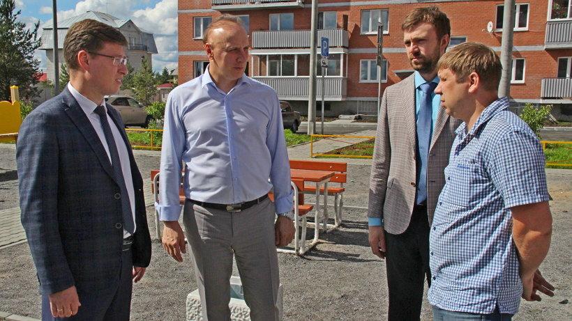 Заместитель председателя правительства Андрей Шестаков отметил положительную динамику на объектах