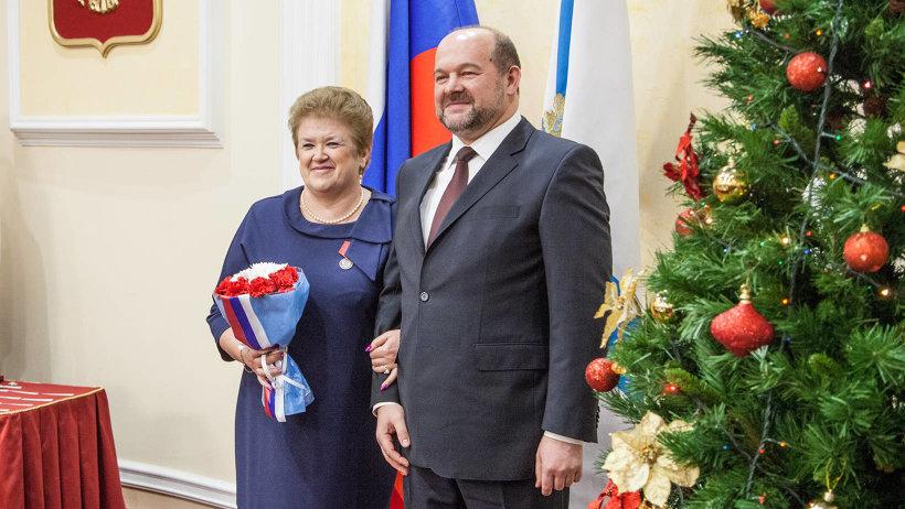 Директор школы посёлка Кулой Вельского района Галина Голубева награждена медалью ордена «За заслуги перед Отечеством» II степени