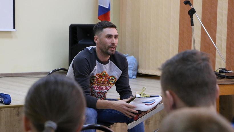 Встреча была организована в рамках акции «Я выбираю спорт».