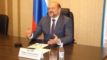 Игорь Орлов поздравил онежан с появлением надежной сотовой связи