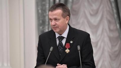 Валерий Григорович на вручении государственных наград в Кремле