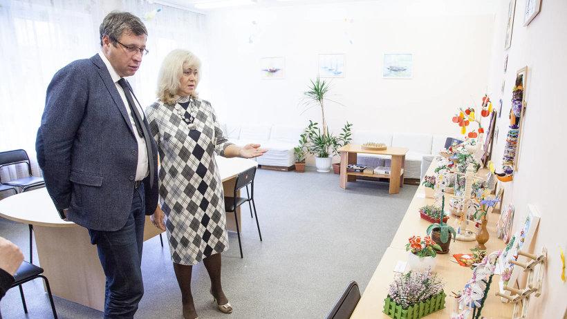 Сенсорная комната оборудована в отделении дневного пребывания граждан пожилого возраста с геронтопсихиатрическим синдромом