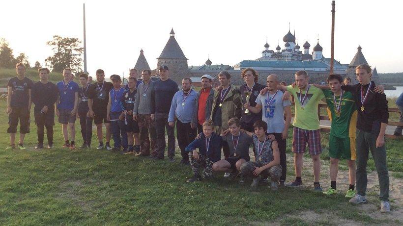 Соревнования по футболу у древних монастрыских стен проводятся уже третий год подряд
