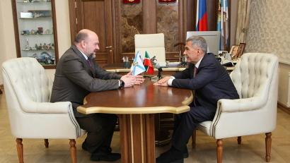 Архангельскую область  и Республику Татарстан связывают давние партнерские отношения