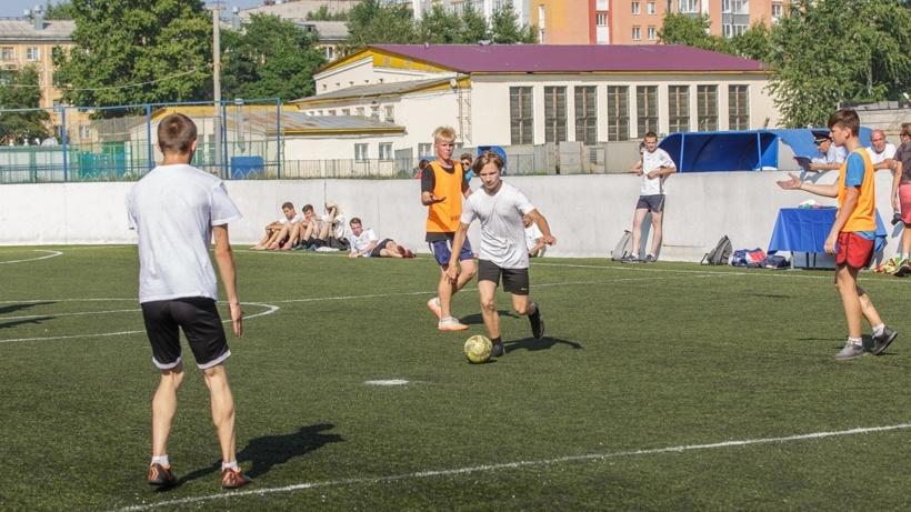 Заключительный этап IV юношеского турнира по мини-футболу «Кубок летних каникул» прошёл на стадионе «Динамо»