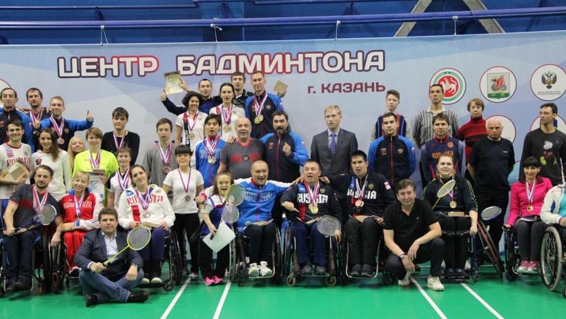 Кубок России по парабадминтону в этом году проводился в первый раз