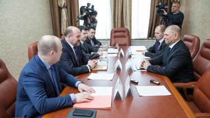 Игорь Орлов обсудил с Игорем Честиным перспективы сотрудничества