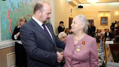 В Архангельской области медали вручат 19 тысячам северян