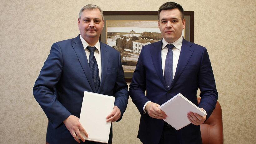 Алексей Алсуфьев и Денис Лукичев подписали соглашение о сотрудничестве