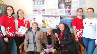 Волонтеры проводят профилактические акции для сельских жителей