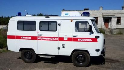 Новый автомобиль для Коряжемской больницы