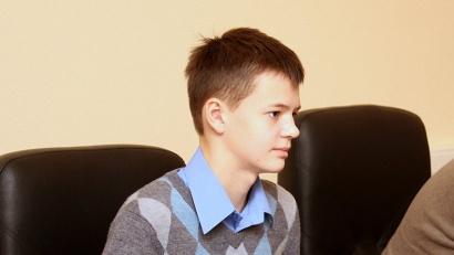 Данила Моргунов учится в архангельской школе №26