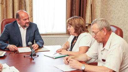 Игорь Орлов продолжает традиционную серию встреч с главами муниципалитетов