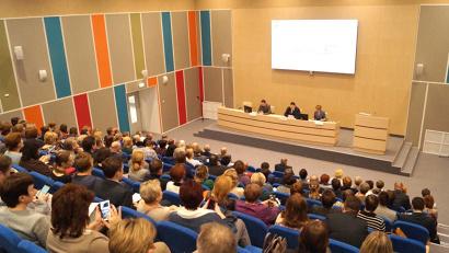 Заседание коллегии министерства здравоохранения состоялось в конференц-зале перинатального центра Архангельской областной клинической больницы