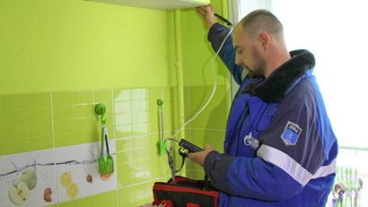 В ходе проверок в домовладениях проводится и техническое обслуживание газового оборудования