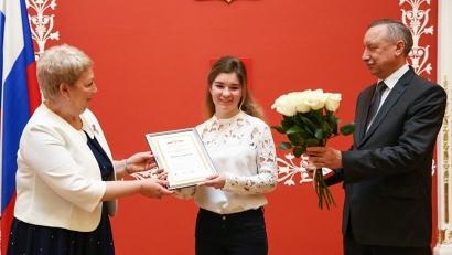 Наибольшее количество баллов в своей категории набрала Мария Угрюмова из средней школы №1 г. Вельска
