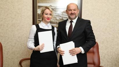 Игорь Орлов и Евгения Шохина