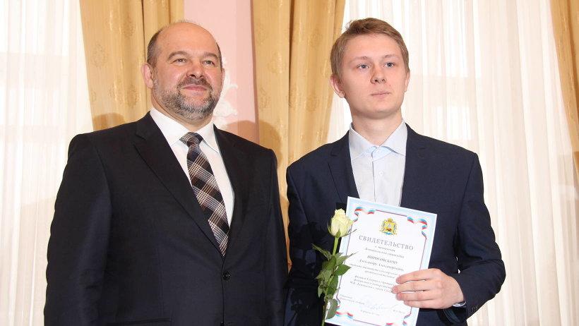 Ломоносовская стипендия была учреждена губернатором в рамках Ломоносовского приема по приоритетным для экономики специальностям