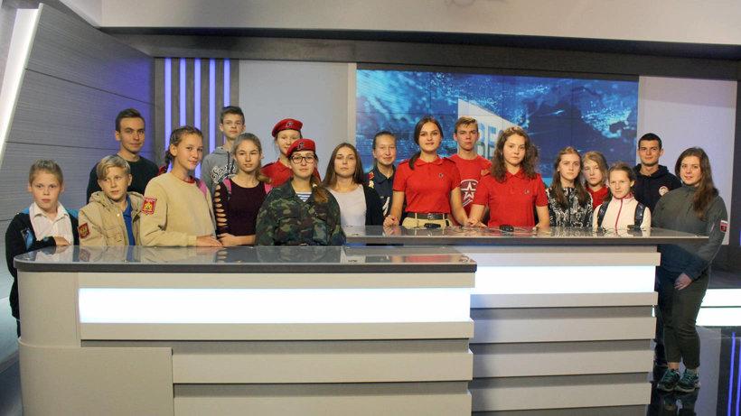 Юные корреспонденты из разных муниципальных образований Поморья побывали с экскурсиями на ГТРК «Поморье» и холдинге «Регион29»