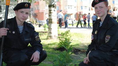 К участию в акции «Дерево Победы» присоединились практически все муниципальные образования Архангельской области.