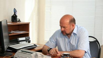 Прямая линия с главой региона была организована в редакции газеты «Знамя»