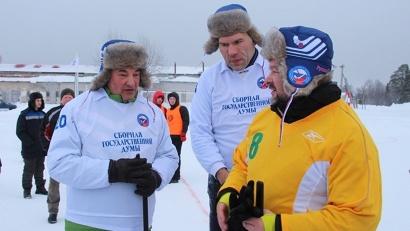 Игорь Орлов обсудил с Владиславом Третьяком и Николаем Валуевым планы по строительству новых спортивных объектов в Поморье