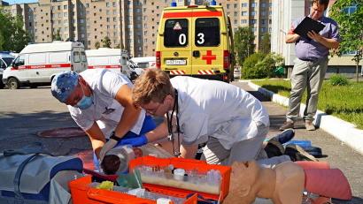 11 команд Поморья борются за звание лучшей бригады скорой помощи