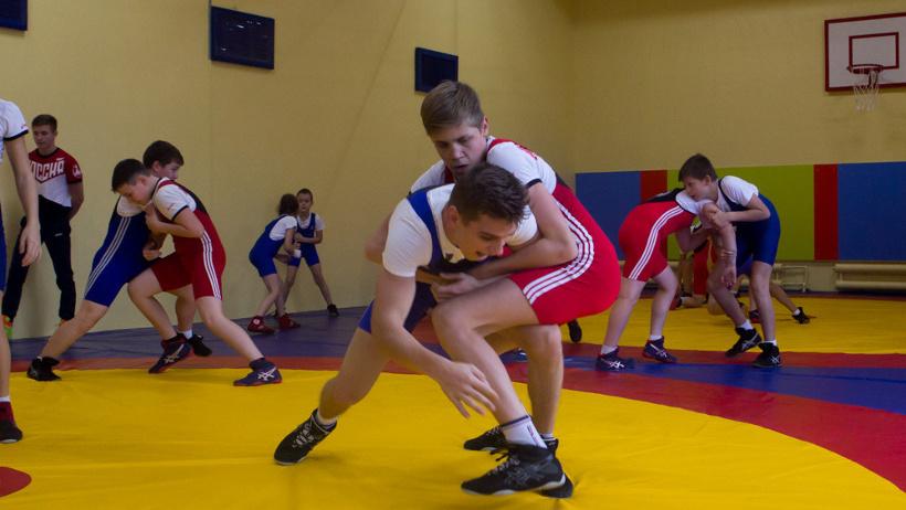 В Архангельске открылся новый зал для занятий борьбой