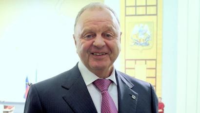 Президент Международной федерации бенди (FIB) и Федерации хоккея с мячом России (ФХМР) Борис Скрынник
