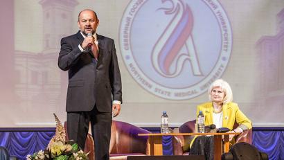 Игорь Орлов: «В силу территориальных особенностей нашей области перед медицинским сообществом ставятся совершенно уникальные задачи»