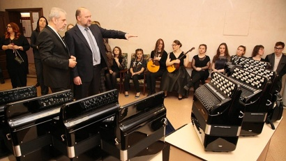 Новые музыкальные инструменты получат Архангельский музыкальный колледж и восемь  школ искусств