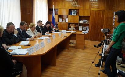 Пресс-конференция прошла в администрации Няндомского района