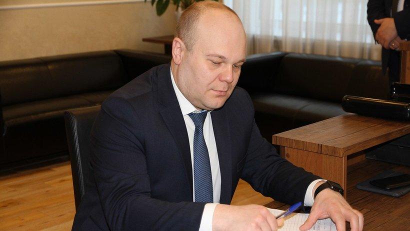 Виктор Иконников выбрал аллею молодёжи в Северодвинске
