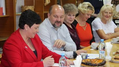 Врио губернатора Игорь Орлов провёл встречу с советом женщин...