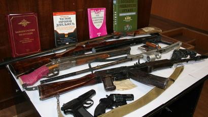 За допущенные нарушения изъято 77 единиц состоящего на учёте оружия и четыре единицы незарегистрированного охотничьего оружия