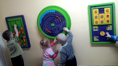 Игровые зоны в детских отделениях