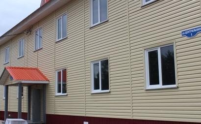 Дом построен по программе обеспечения северян качественным, доступным жильем и объектами инженерной инфраструктуры. Фото газеты «Заря»