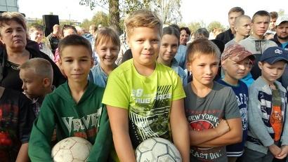 С особым нетерпением этого события ждали юные жители Цигломени