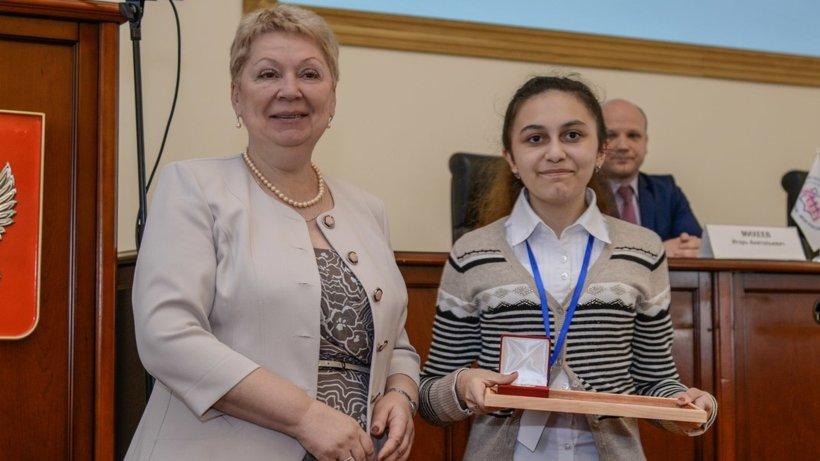 Зохра Джафарова стала победителем в номинации «Мой город».