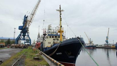 Рыболовецкий траулер «Мичуринск» выловил в этом сезоне около двух тысяч тонн рыбы