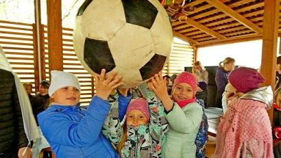 Юные северяне вновь доказали на собственном примере: ненастная погода – не помеха для спорта и здорового образа жизни!