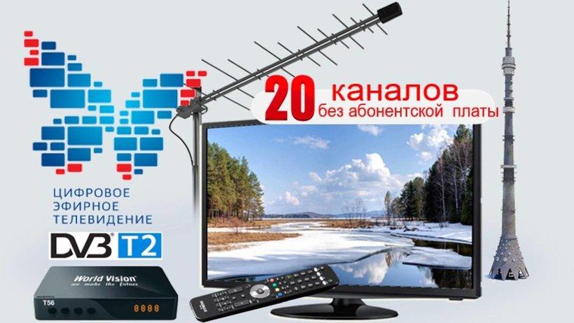 С выбора антенны начинается путешествие в увлекательный мир цифрового эфирного ТВ