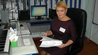 Учитель начальных классов онежской средней школы №4 Ольга Овчинникова