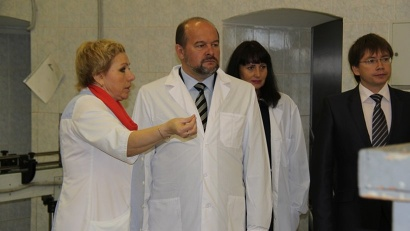 Глава региона осмотрел производство и пообщался с коллективом предприятия
